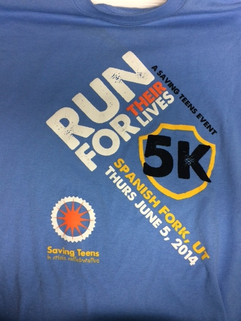 SavingTeens Run for Their Lives 5K